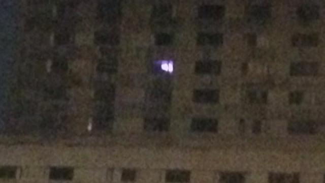 Mystery of 'Christmas tree lights' in Charity hospital window solved