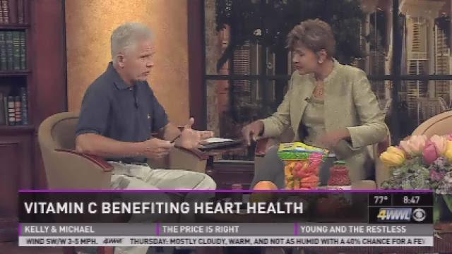 Mackie Shilstone: Vitamin C for heart health