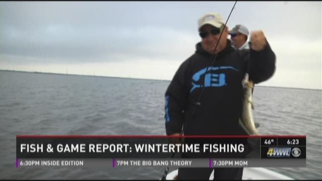 fish game winter fishing in lafitte