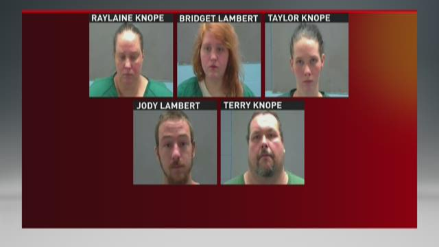 5 arrested in Amite after woman with autism found in backyard cage