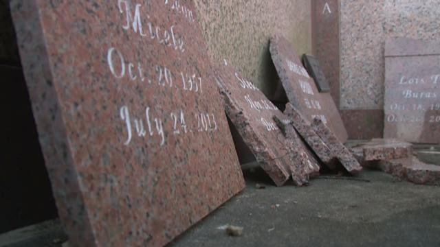 Teens arrested for dumping ashes, vandalizing 50 graves in Independence cemetery