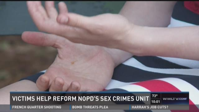 NOPD sex crimes unit gets aid from rape victim