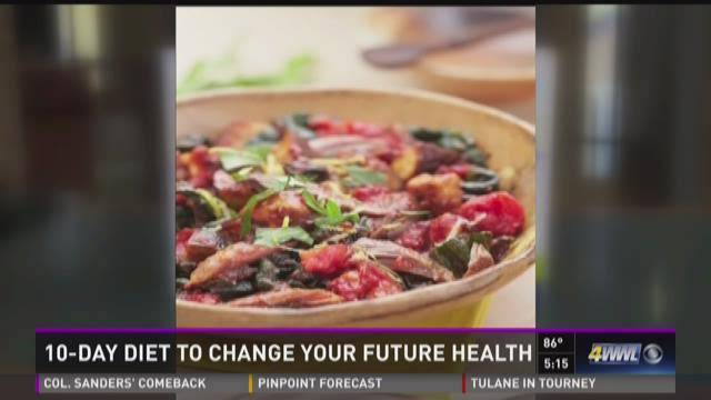 10-day diet to change your future health