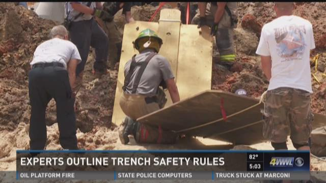 Experts outline trench safety rules