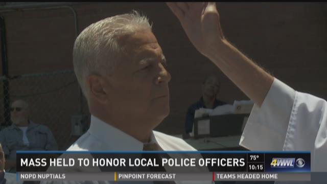 Mass to honor police officers