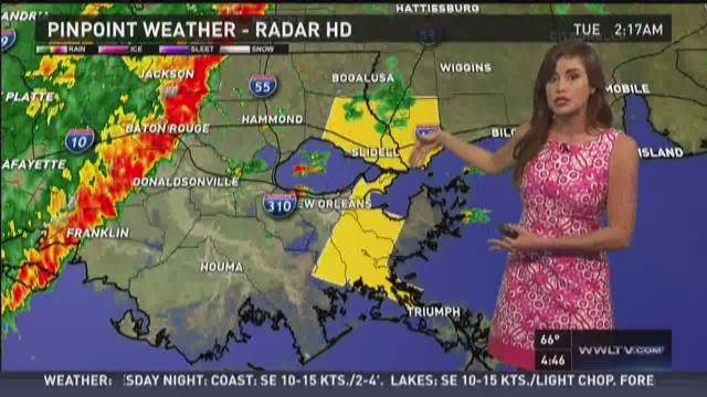 Pinpoint Forecast Tuesday