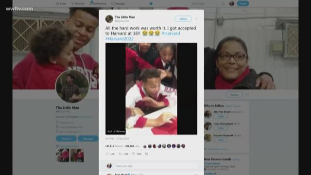 Teen's Heartwarming Reaction To Harvard Acceptance Letter Goes Viral