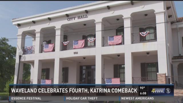 4th of July marks Katrina comeback in Waveland