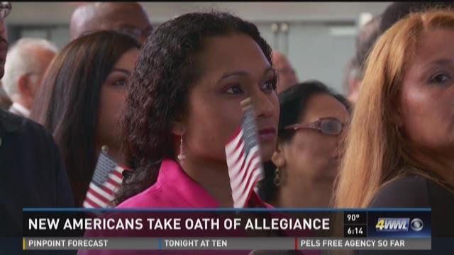 New Americans take Oath of Allegiance