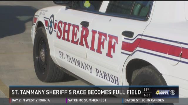 St. Tammany sheriff's race has a full field