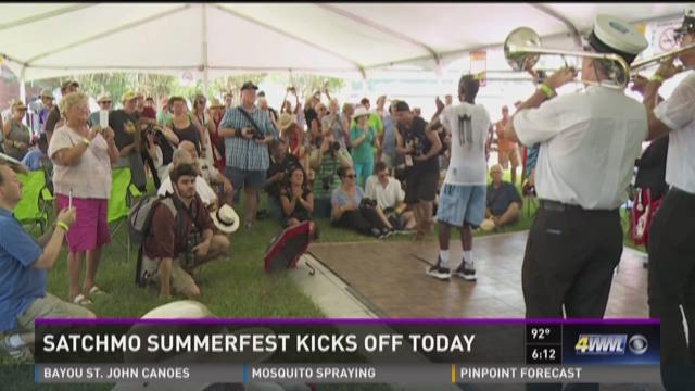 Satchmo Summerfest kicks off