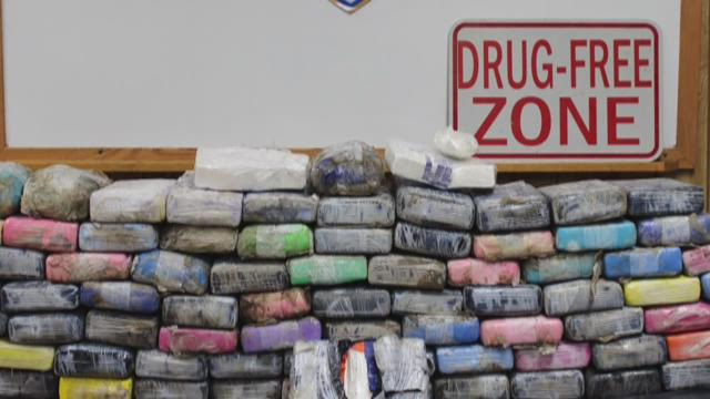 Plaquemines Parish Sherrif's Office Narcotics Agents seized nearly 200 lbs. of cocaine valued at $4.5M with an estimated street value of $18M.