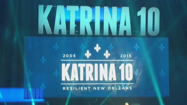 Katrina 10 Commemorations end at Smoothie King Center on Saturday night