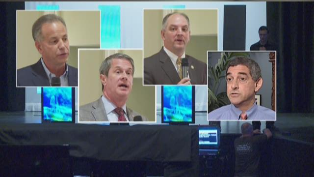 Vitter a no-show at first statewide, televised candidate debate