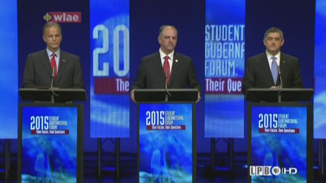 Gubernatorial candidates debate higher education