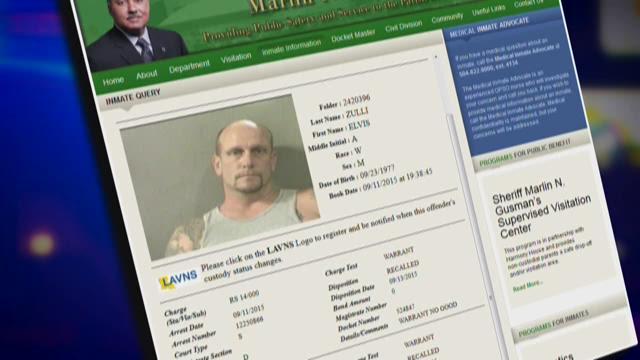 Man still behind bars after arrest on old warrant