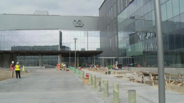 VA hospital nears completion