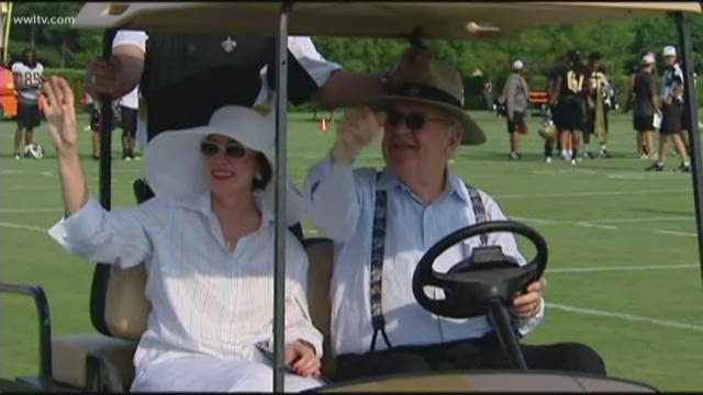 Gayle Benson to succeed Tom Benson as Saints, Pelicans owner